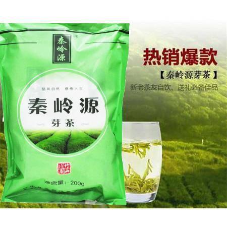 【竹山馆】秦岭源袋装芽茶200g