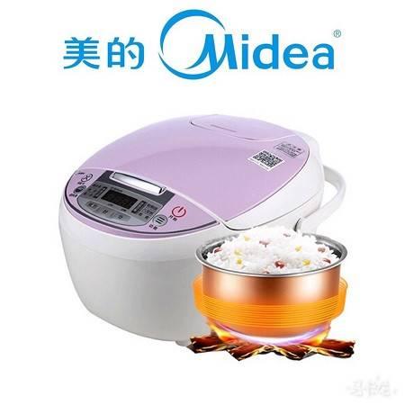 【限信阳地区积分兑换专用,不对外销售】美的(Midea)电饭煲FS4018D『4L蜂窝内胆』
