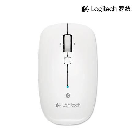 罗技/Logitech M558 M555b升级版 多平台无线3.0无线蓝牙鼠标M557白色版鼠标