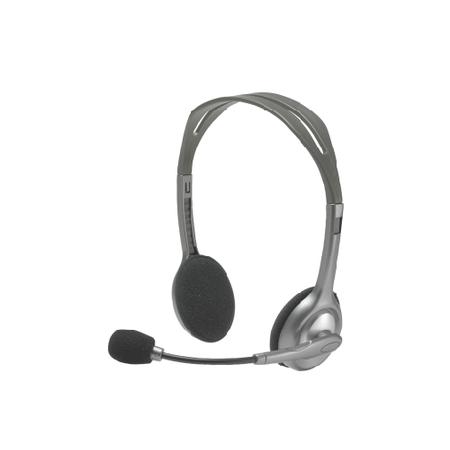 罗技/Logitech H111耳机带麦克风 头戴式音乐语音耳麦
