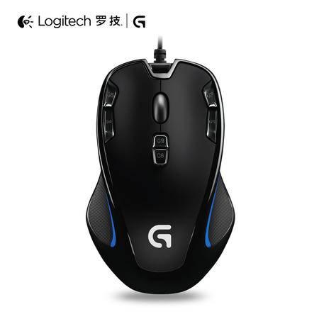 罗技/Logitech G300S有线游戏鼠标 G300升级版 竞技专业 有线鼠标