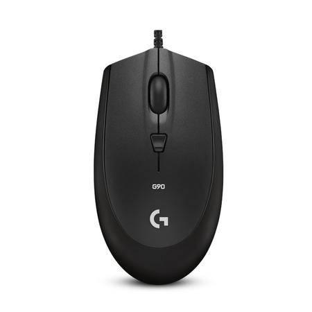 罗技/Logitech G90光电有线游戏鼠标
