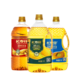 长寿花  金胚玉米油1L+葵花油1L+花生油1L3瓶组合装