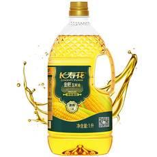 【特惠】长寿花   金胚玉米油1L 非转基因玉米胚芽油食用油植物油烘焙