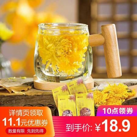 【汉寿惠农】千弘金丝大皇菊一朵一杯  20朵装