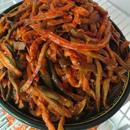【铁岭馆】红油萝卜条500g(包邮)