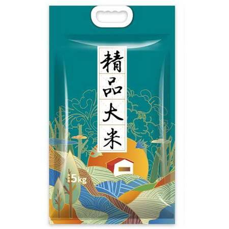 【太湖邮政助力乡村振兴】福相安优质大米米香良田真空包装  5kg