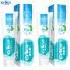 【2支新款】纳爱斯自然盐白牙膏200克+120克清新口气洁白牙齿