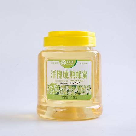 众天洋槐成熟蜂蜜1.1kg