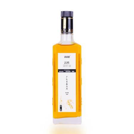 清清油 活性菜籽油500ML