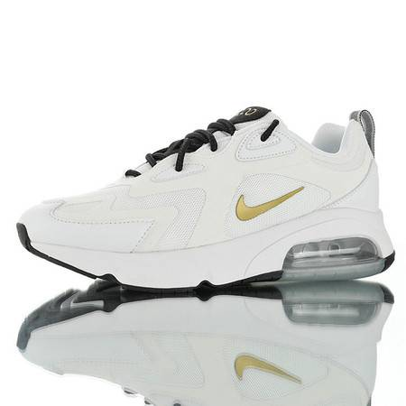 Nike Air Max 200 耐克男子运动鞋 网面大气垫缓震休闲运动跑步鞋