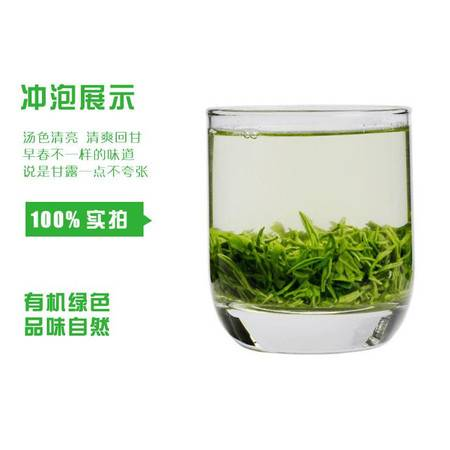 【西乡特产】汉中西乡炒青绿茶2021新茶
