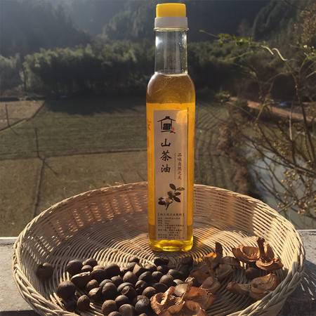 【爱心助农-领券更优惠】江西宁都特产 农家山茶油 500ml/瓶 土茶籽油宝宝油月子油物理压榨食用油