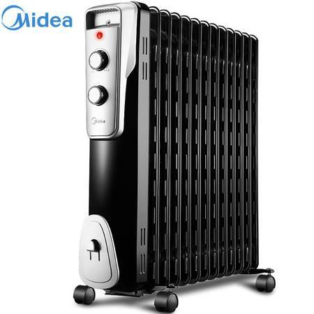 美的/MIDEA 13片电热油汀家用取暖器油丁大功率暖器片电暖气NY2513-16J1W
