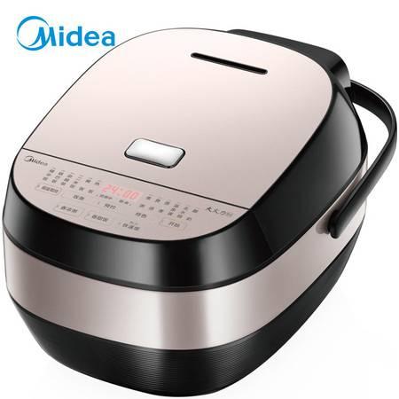 美的/MIDEA IH电磁加热4L智能预约电饭煲触摸操控精铁厚釜内胆电饭煲MB-HS4068