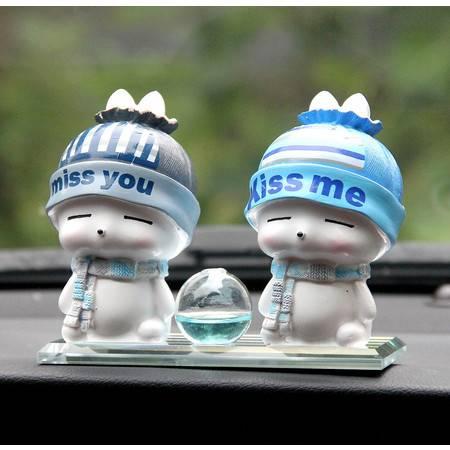 汽车摆件车载可爱摇头公仔车上装饰车内饰品摆件男女创意汽车用品
