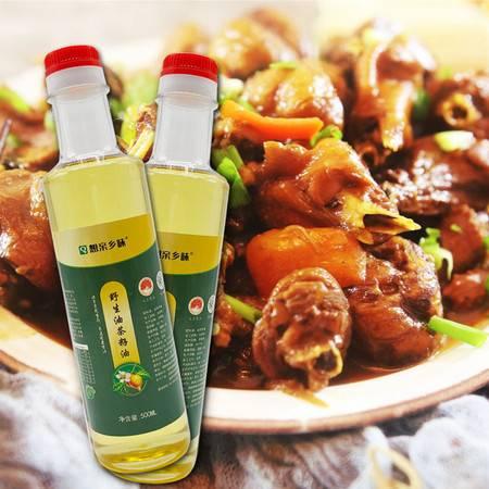 想亲乡味 株洲攸县野生油茶籽油500ML/瓶