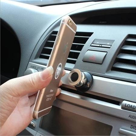欧班尼 磁吸车载手机支架吸盘式粘贴出风口磁铁仪表台汽车上用磁性导航座