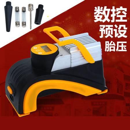 欧班尼 车载轮胎充气泵12v车用大功率便捷式高压汽车打气泵