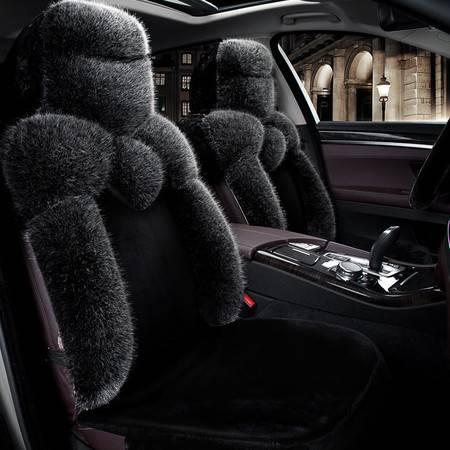 欧班尼 贵妇人毛绒保暖汽车坐垫秋冬汽车坐垫【下单备注车型年份】