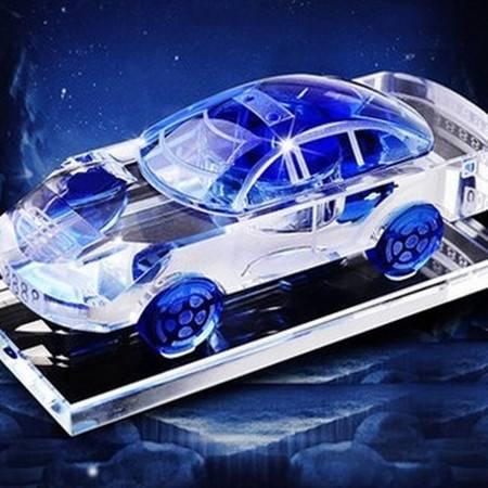 欧班尼 汽车香水车用车载香水座式水晶车模车内饰品摆件汽车上用品