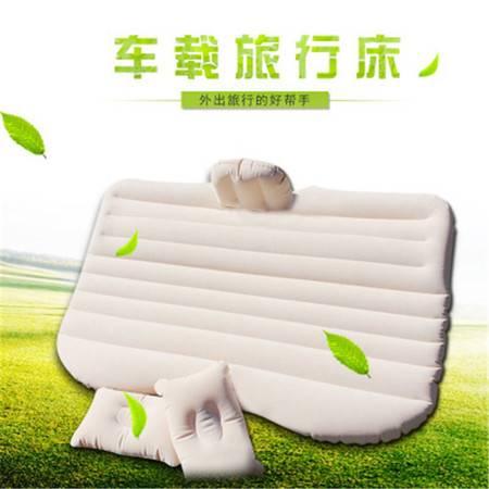 车载充气床时尚植绒旅行床垫户外内饰用品车载震床