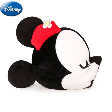 迪士尼/DISNEY  米奇米妮亲亲抱枕毯
