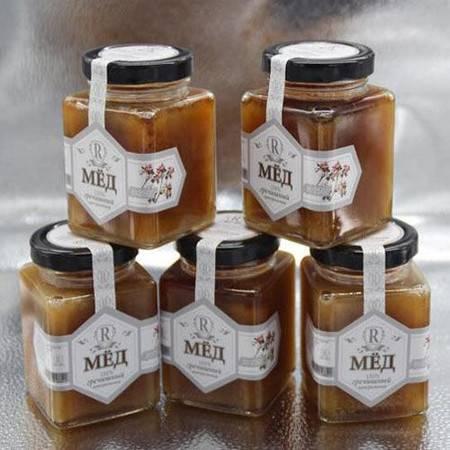【俄罗斯蜜蜂】【支持邮乐卡支付】【黑河】原装进口俄罗斯椴树荞麦百花蜂蜜500g