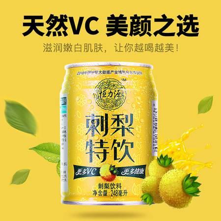 黔南 龙里【野生刺梨维C饮料】 清凉消暑 夏日健康饮料 一箱248ml*12罐