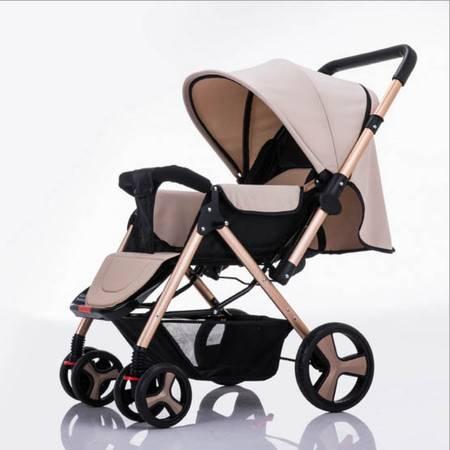 星月辰 高景观双向可坐可躺婴儿推车出行简单大方婴儿童车