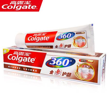 高露洁360金参护龈牙膏90g