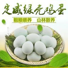 【定威绿壳鸡蛋】贵州黔东南榕江特产定威鸡蛋60枚 贵州省内包邮