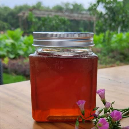 广西马山 百花土蜂蜜 500g/瓶 杂花蜂蜜 源于大石山 食于大自然