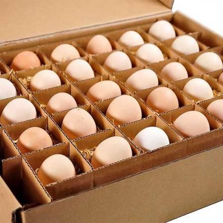 【平顶山消费扶贫】舞钢白云土鸡蛋60枚(30枚*2箱)  包邮