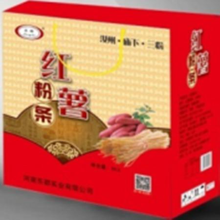 【平顶山乡村振兴】仅限团购  汝州东都红薯粉条(红款)  500g*10