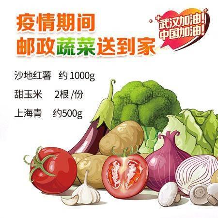 【赣县】 抗疫新鲜蔬菜(套餐A) 仅限赣县城区客户购买