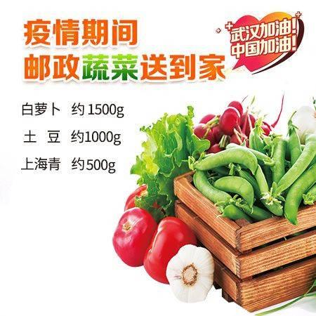 【赣县】抗疫新鲜蔬菜6斤装 (套餐一) 仅限赣县城区客户购买