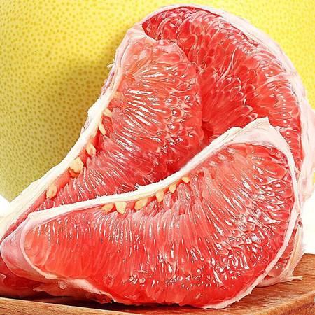 【赣县】农家自产 助农扶贫新鲜红心蜜柚,两粒装包邮