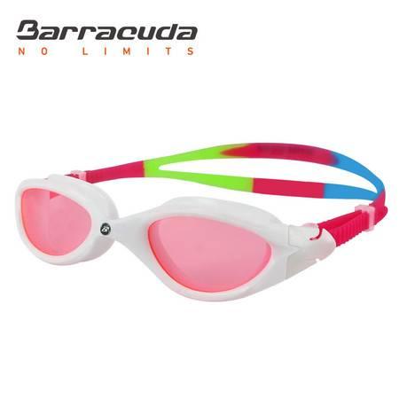 美国巴洛酷达Barracuda平光游泳眼镜 双重防雾 防水防雾高清游泳眼镜#31720