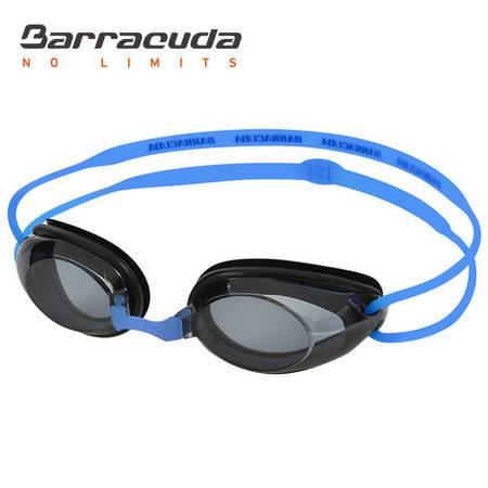 巴洛酷达DR.B系列近视泳镜 高清防雾防水度数泳镜#2195蓝
