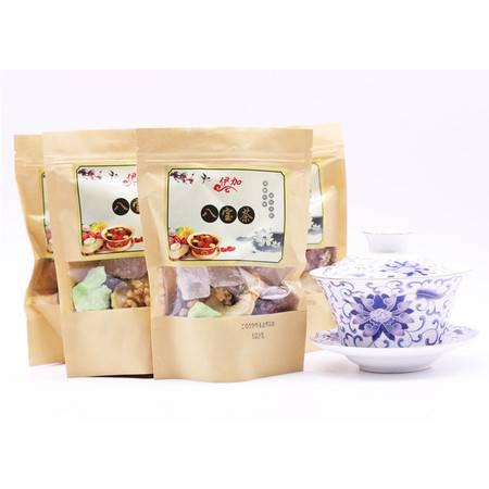 【青海 化隆扶贫馆】 伊加开窗牛皮袋120g*10袋 袋装八宝茶 精品茶
