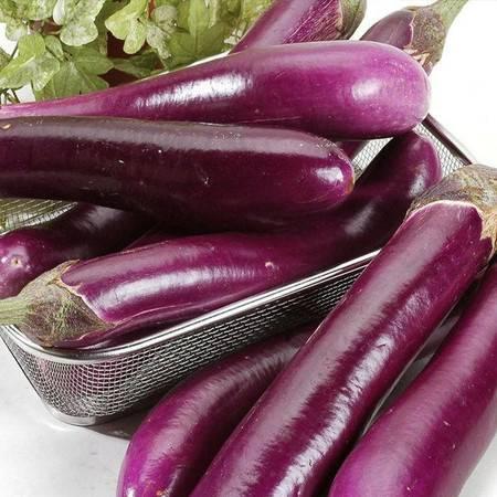 【青海 民和扶贫馆】民和享堂农家自产 新鲜长茄子 紫茄子 大茄子 农家自种黑嫩现摘蔬菜 3斤装