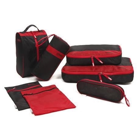 CHOOCI 旅行收纳7件套 防水旅游衣物袋洗漱包行李箱整理包袋 CU0701