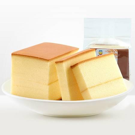来伊份 原味纯蛋糕 早餐食品营养鸡蛋糕点心原味手撕小面包250g