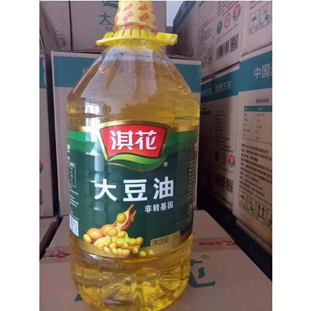 【民权馆】邮政助农 淇花一级大豆油(非转)5L