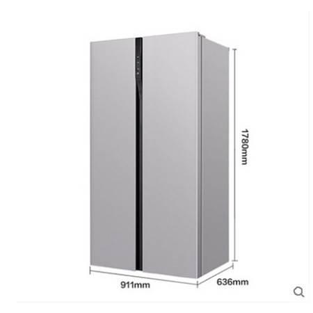 【2019积分】Changhong/长虹BCD-515WPUCH长虹电冰箱超薄风冷无霜对开门泰坦灰