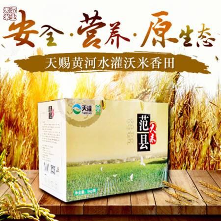 新米正宗天灌5kg箱装 大米绿色食品零农残范县大米