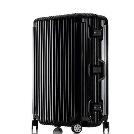 意酷铝框行李箱万向轮拉杆箱旅行箱29英寸男女士登机托运箱子1410