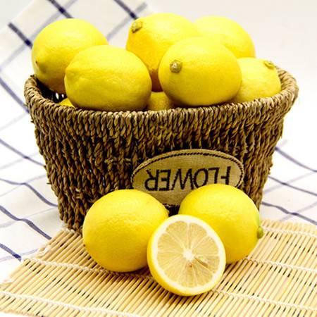 安岳黄柠檬5斤装 新鲜水果 现摘现发