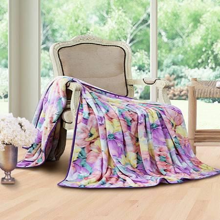 梦洁家纺 法兰绒毯 科罗拉(180*200cm)